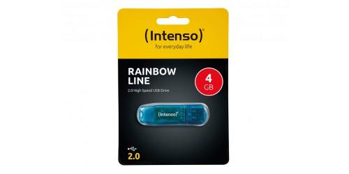 INTENSO RAINBOW LINE USB DRIVE 4GB
