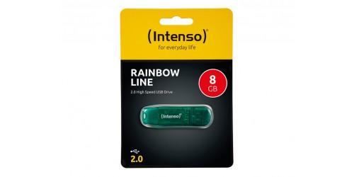 INTENSO RAINBOW LINE USB DRIVE 8GB