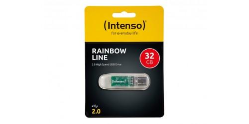 INTENSO RAINBOW LINE USB DRIVE 32GB