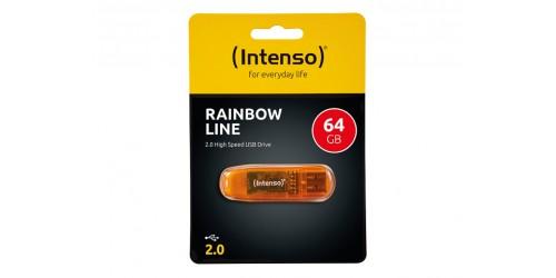INTENSO RAINBOW LINE USB DRIVE 64GB
