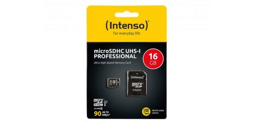 INTENSO MICRO SDHC CARD UHS-I 16GB