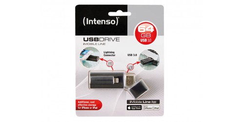 INTENSO IMOBILE LINE USB DRIVE 64GB