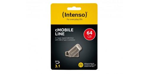 INTENSO CMOBILE LINE USB STICK 64GB