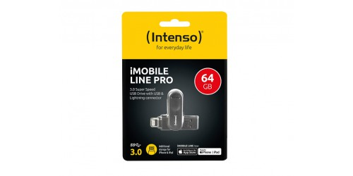 INTENSO IMOBILE LINE PRO USB STICK 64GB