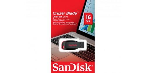 SANDISK CRUZER BLADE USB DRIVE 16GB