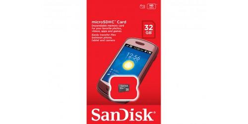 SANDISK MICRO SDHC CARD 32GB