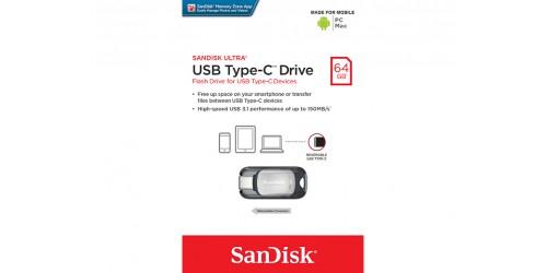 SANDISK TYPE-C USB STICK 64GB