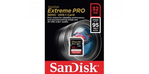 SANDISK EXTREME PRO SDHC UHS-I U3 V30