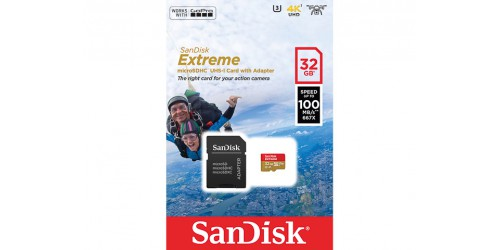 SANDISK MICRO SDHC UHS-I U3 V30 A1 32GB