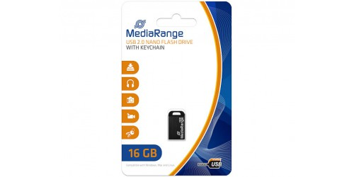 MEDIARANGE NANO FLASH DRIVE 16GB