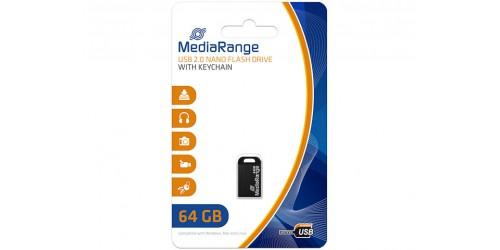 MEDIARANGE NANO FLASH DRIVE 64GB