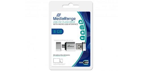 MEDIARANGE OTG FLASH DRIVE 8GB
