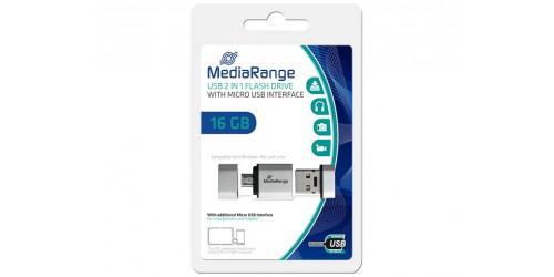 MEDIARANGE OTG FLASH DRIVE 16GB