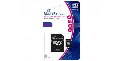 MEDIARANGE MICRO SDHC CARD  8GB
