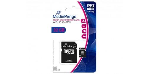 MEDIARANGE SDHC CARD CLASS10 32GB