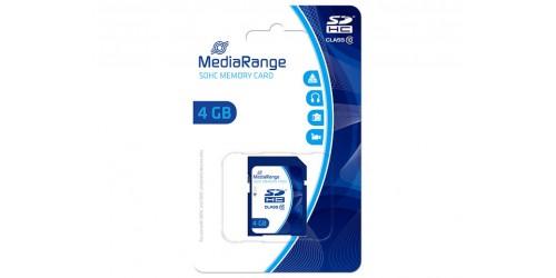 MEDIARANGE SDHC CARD 4GB