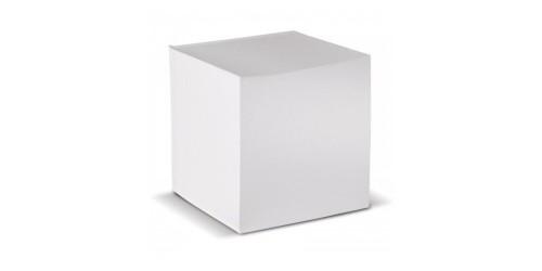 Kubusblok wit
