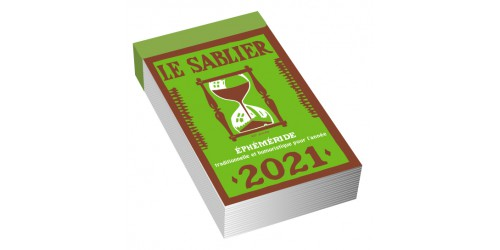 Bloc Ephimeride Le Sablier