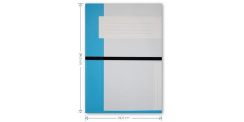 Dossiermap met elastiek cap 63 mm Strobbe