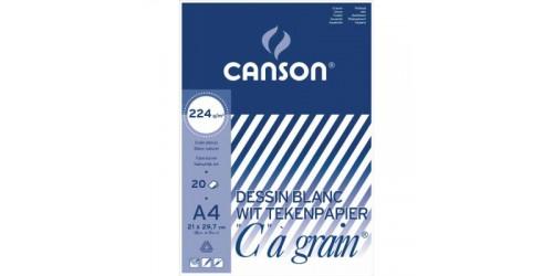 Canson tekenpapier 27x36cm 27.137