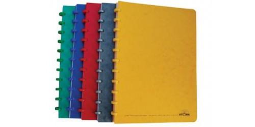 Atoma schift A4 gelijnd  cardboard