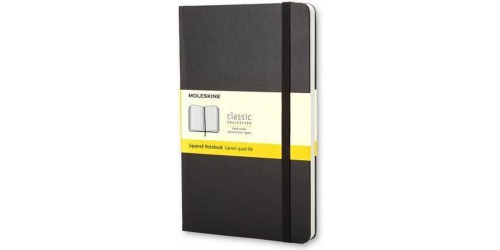 Moleskine Large Notebook ruitjes
