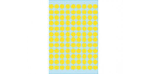 Coderingsetiket, geel