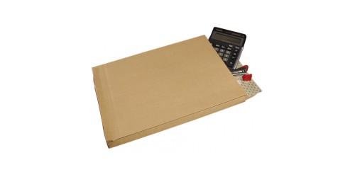 Balg-envelop kraft 324x229x30 versterkt