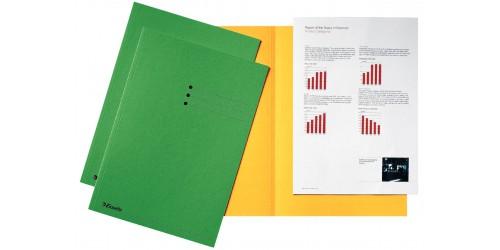 Vouwmap A4 180 g groen     2113408