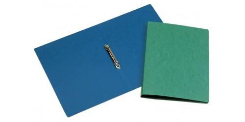 Ringband 2 rings karton A4 blauw