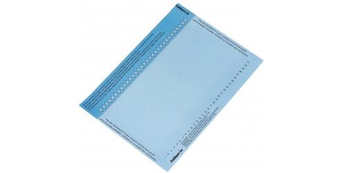 Indicatiestrook L'Oblique 8 blauw