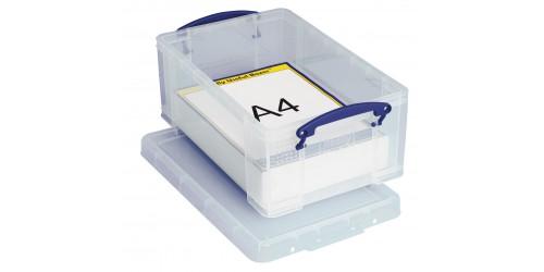 RUB Opbergdoos transparant 9 liter