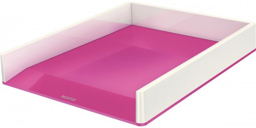 Brievenbak Leitz Wow roze/wit