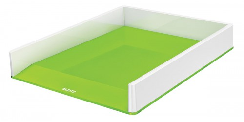 Brievenbak Leitz Wow groen/wit