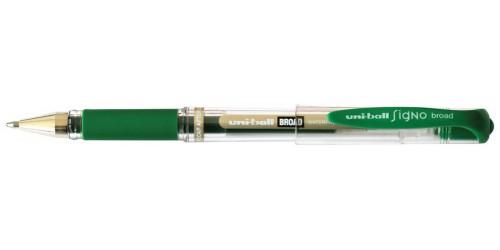 Uniball Signo Broad UM153 groen
