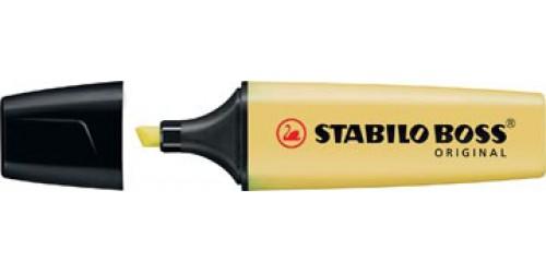 Stabilo Boss Pastel Milky Yellow