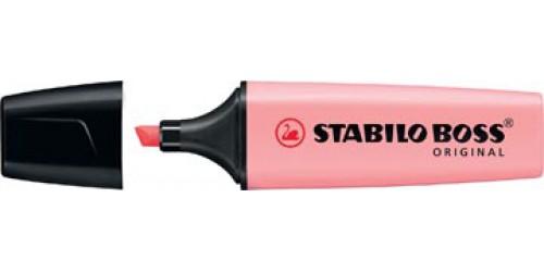 Stabilo Boss Pastel Pink Blush