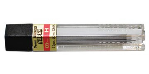 Etui Pentel stift B 0,5mm