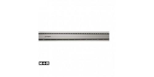 Aluminium liniaal 30 cm anti-slip