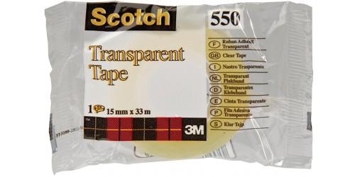 Scotch 550 kleefband 15 mm x 33 m
