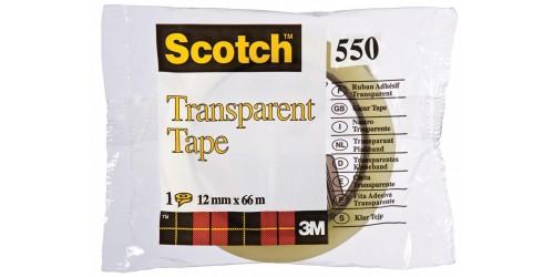 Scotch 550 transp. 12 mm x 66 m