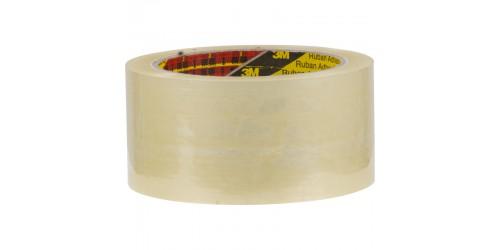 Verpakkingstape transparant PP 50mmx66m