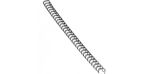 Metalen Draadrug zwart 6 mm