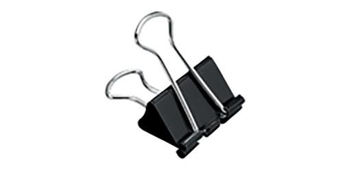Papierknijper Foldback 41 mm