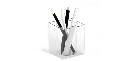 Pen Holder Cubo transparant