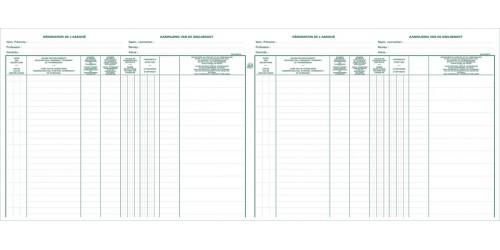 Aandelenregister BV 9401 x