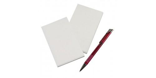 Orderbook blanco no carbon 3x50 ex