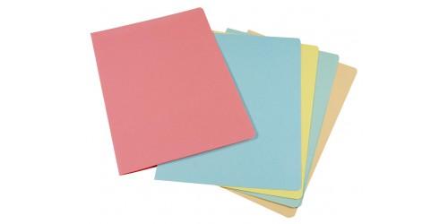 Vouwmap A4 160 g roze 305x215mm