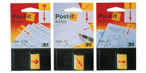 Post-it Index Sign Here