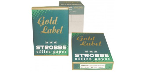 Pak Gold Label A4 80g. wit